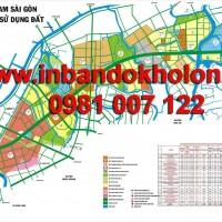Bản đồ quy hoạch chi tiết Nam Sài Gòn