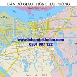 Bản đồ giao thông Hải Phòng