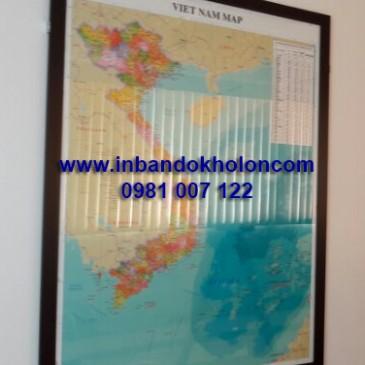 Nơi bán bản đồ Việt Nam treo tường giá rẻ