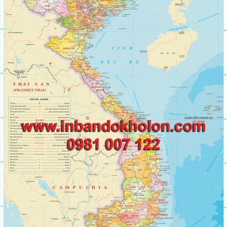 www.123nhanh.com: Bán bản đồ khổ lớn, nhỏ tại Hà Nội