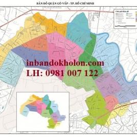 Bản Đồ Quận Gò Vấp TP Hồ Chí Minh