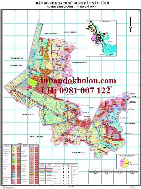 bản đồ quy hoạch sử dụng đất bình chánh