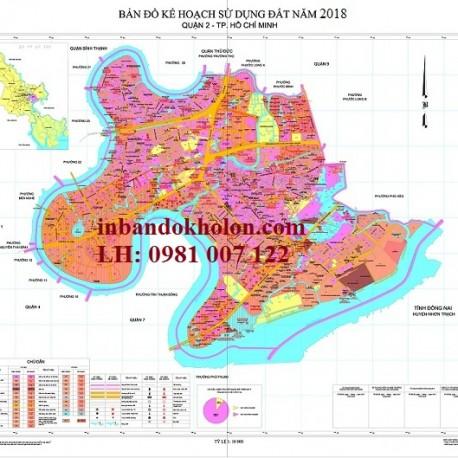bản đồ quy hoạch sử dụng đất quận2