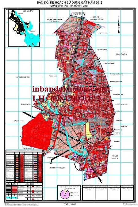 bản đồ quy hoạch sử dụng đất bình tân