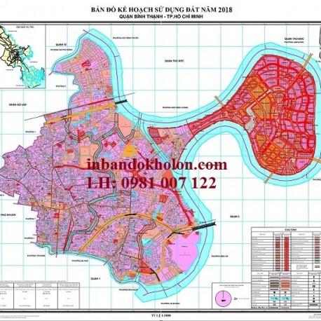 bản đồ quy hoạch sử dụng đất bình thạnh