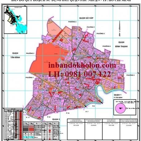 bản đồ quy hoạch sử dụng đất Phú Nhuận