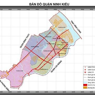 Tổng Quan Về Bản Đồ Quận Ninh Kiều