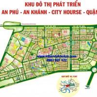 Bản đồ khu đô thị An Phú – An Khánh