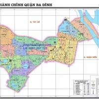 Bản Đồ Quận Ba Đình Thủ Đô Hà Nội