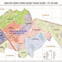 Bản Đồ Hành Chính Quận Thanh Xuân