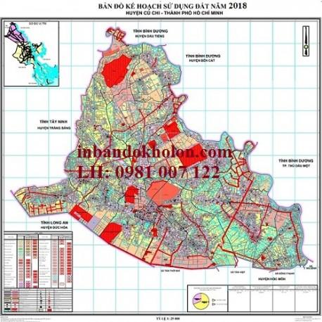bản đồ quy hoạch sử dụng đất Củ Chi