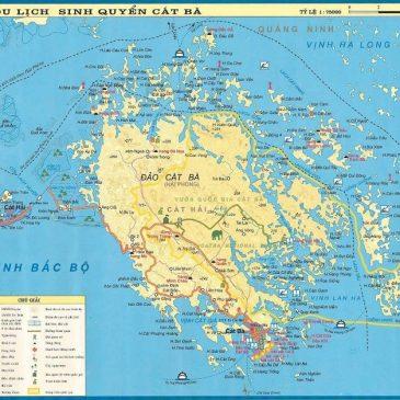 Bản Đồ Huyện Đảo Cát Bà Hải Phòng