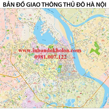 Ban do ha noi